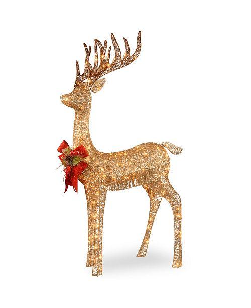 "National Tree Company 48"" Pre-lit Standing Reindeer"