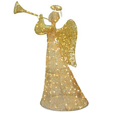 "National Tree Company 60"" Angel Decoration with LED Lights"