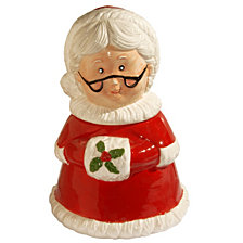 "National Tree 11"" Mrs. Claus Cookie Jar"