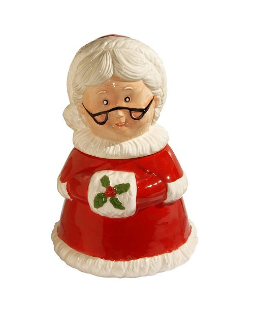 "National Tree Company National Tree 11"" Mrs. Claus Cookie Jar"