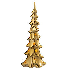 "National Tree 12.6"" Ceramic Tree with LED Lights"