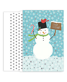 Masterpiece Studios Candy Cane Snowman Boxed Holiday Cards