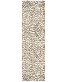 "Orian Cotton Tail Solid 2'3"" x 8' Area Rug"