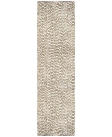 "Jennifer Adams  Cotton Tail Solid 2'3"" x 8' Area Rug"