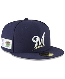 New Era Milwaukee Brewers Jersey Custom 59FIFTY Fitted Cap