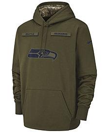Nike Men's Seattle Seahawks Salute To Service Therma Hoodie