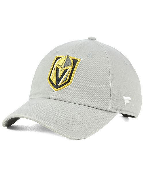 Authentic NHL Headwear Vegas Golden Knights Fan Relaxed Adjustable Strapback Cap