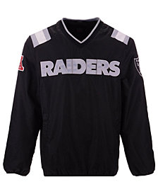 G-III Sports Men's Oakland Raiders Countback Pullover Jacket