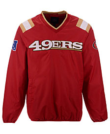 G-III Sports Men's San Francisco 49ers Countback Pullover Jacket