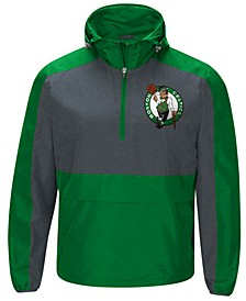Men's Boston Celtics Leadoff Lightweight Half-Zip Jacket