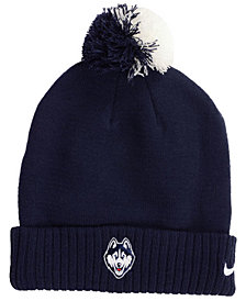 Nike Connecticut Huskies Beanie Sideline Pom Hat