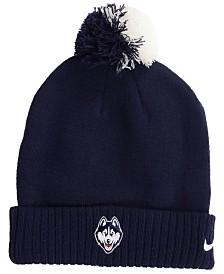 Nike Connecticut Huskies Beanie Sideline Pom Hat