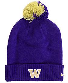 Nike Washington Huskies Beanie Sideline Pom Hat