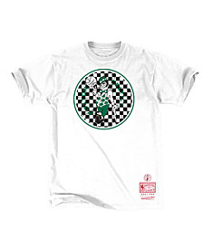 Mitchell & Ness Men's Boston Celtics Checkerboard Hook T-Shirt