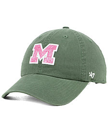 '47 Brand Women's Michigan Wolverines Glitta CLEAN UP Cap