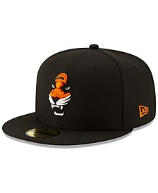 Cincinnati Bengals Logo Elements Collection 59FIFTY FITTED Cap
