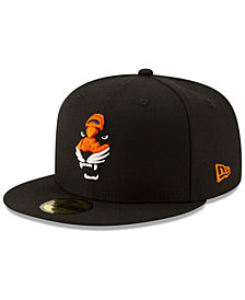 New Era Cincinnati Bengals Logo Elements Collection 59FIFTY FITTED Cap