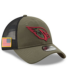 New Era Arizona Cardinals Camo Service Patch 9TWENTY Trucker Cap