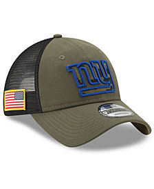New Era New York Giants Camo Service Patch 9TWENTY Trucker Cap