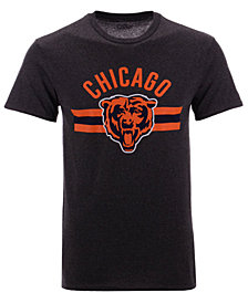 Authentic NFL Apparel Men's Chicago Bears Checkdown T-Shirt
