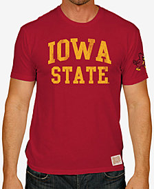 Retro Brand Men's Iowa State Cyclones Vintage Cotton T-Shirt