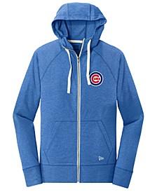 Chicago Cubs Triblend Fleece Full-Zip Sweatshirt