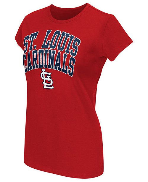 G-III Sports Women's St. Louis Cardinals Endzone T-Shirt
