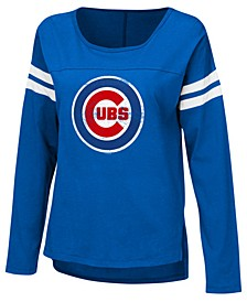 Women's Chicago Cubs Free Agent Long Sleeve T-Shirt