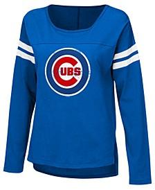 Women's Chicago Cubs Free Agent Long Sleeve T-Shirt