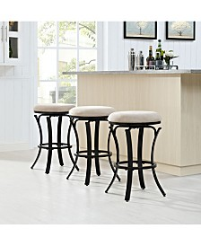 Hedley Swivel Counter Stool With Cushion