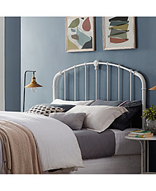 Hazel King Metal Headboard