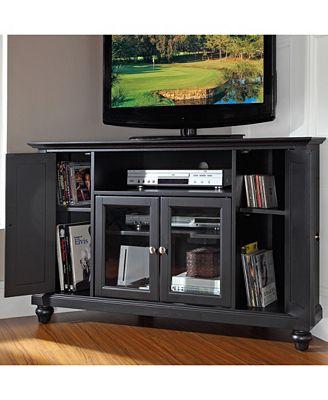 Crosley Cambridge 48 Corner Tv Stand Furniture Macy S
