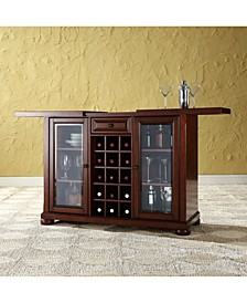 Alexandria Sliding Top Bar Cabinet