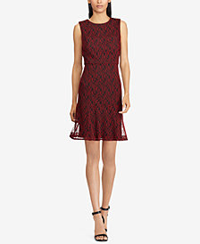 American Living A-line Lace Dress
