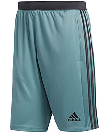 "adidas Men's ClimaLite® Three-Stripe 10"" Shorts"