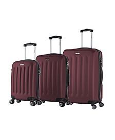 Philadelphia 3-Pc. Lightweight Hardside Spinner Luggage Set