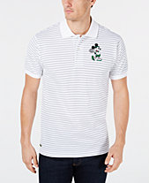 799c905669f4d Lacoste Men s Disney Mickey Mouse Striped Polo