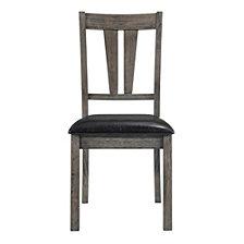 Picket House Furnishings Grayson Fan Back Chair w. PU Seat