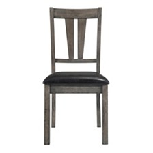 Grayson Fan Back Chair with PU Seat