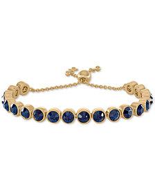 RACHEL Rachel Roy Gold-Tone Crystal Bolo Bracelet