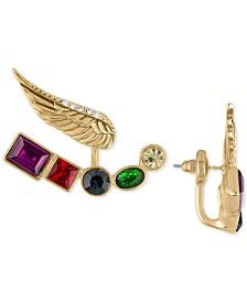 RACHEL Rachel Roy Gold-Tone Crystal Wing Drop Earrings