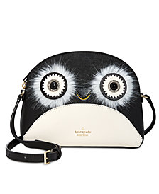 kate spade new york Penguin Hilli Saffiano Leather Crossbody