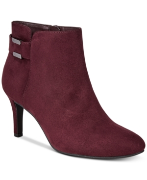 Image of Alfani Women's Step 'N Flex Faust Booties, Created for Macy's Women's Shoes