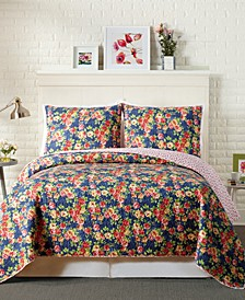 Maria King Quilt Set - 3Pc
