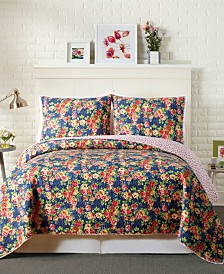 Modern Heirloom Maria King Quilt Set - 3Pc
