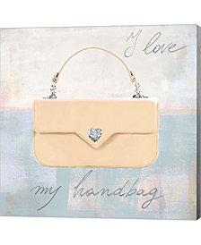 I Love my Handbag by Michelle Clair Canvas Art