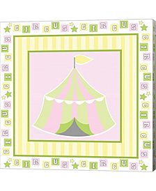 Baby Big Top X Pink by ND Art & Design Canvas Art