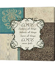 Love By Anita Phillips Canvas Art