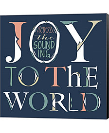 Joy to the World by Longfellow Designs Canvas Art