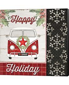 Happy Holiday By Jennifer Pugh Canvas Art